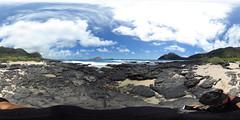 Makapu'u Beach - a 360 degree Equirectangular VR