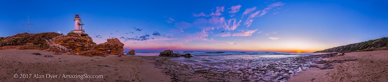 Sunset at Point Lonsdale Lighthouse