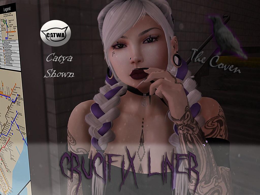 +Coven+ Crucifix liner - SecondLifeHub.com