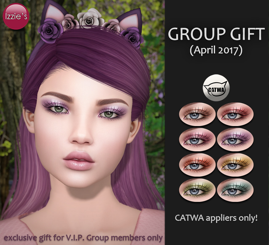 VIP Group Gift April - SecondLifeHub.com