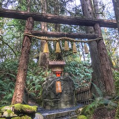 Small Shinto Shrine in Granite Falls