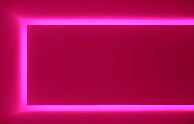 "James Turrell, ""Raemar Pink White"""