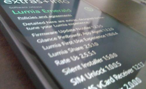 Обновление Lumia Emerald