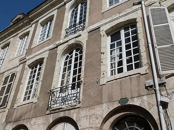 façade rue de la charpenterie