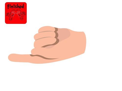 Turn Taker Pointing Finger