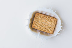 Dunking Custard Creams....