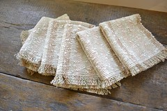 Rigid heddle napkins
