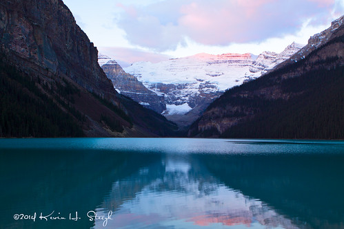 Early October Morning at Lake Louise