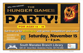 Hunger Games Party for Ages 13-18 @ the South Manatee Branch Library