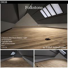 DIGS - Folkestone Attic Room - Light FLF