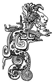 representacion de kukulkan dios maya