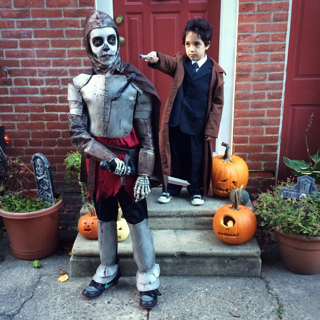 #doctorwho #skeleton #skeletonknightgideon #Halloweencostume