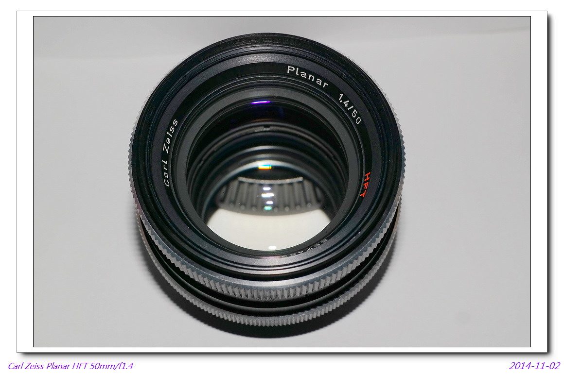 Carl Zeiss Planar HFT 50mm/f1.4~