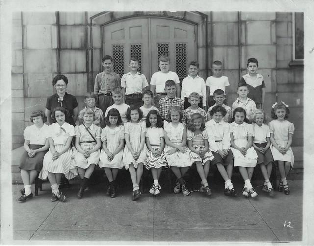 Schiel School 4th Grade 1949