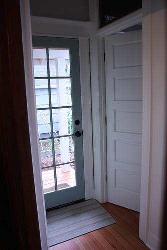 Porch Door/Bathroom Entrance