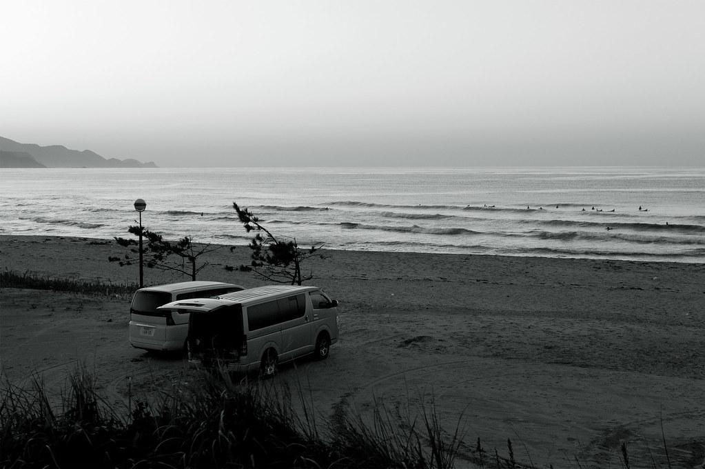 wagon|夕日が浦海岸