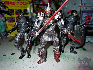 """NINJA TURTLES"" Movie :: SHREDDER  { tOKKustom MOVIE MANIAC } viii / ..Nodachi Long Sword (( 2014 ))"