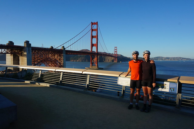 Us and the Golden Gate Bridge