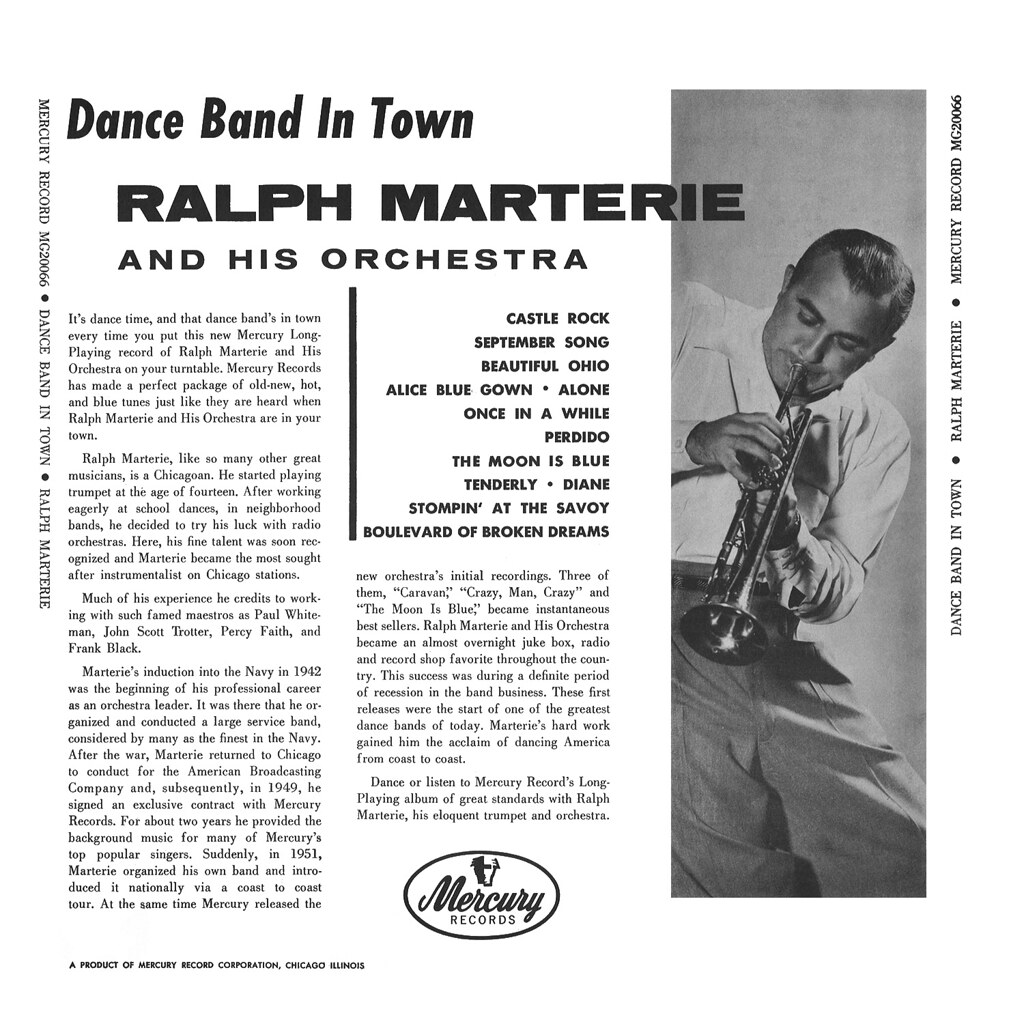 Ralph Marterie  - Dance Band in Town
