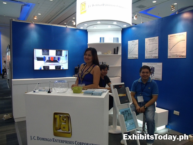 J.C. Domingo Enterprises exhibit booth