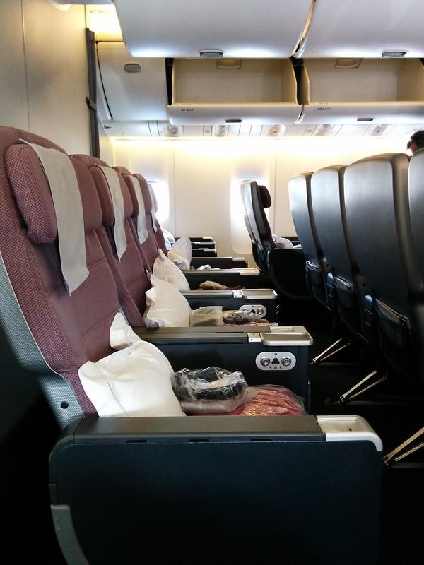 Qantas PEY Legroom