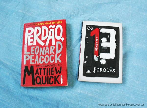 Perdão Leonard Peacock, Os 13 porquês, livro, suicídio, jovens