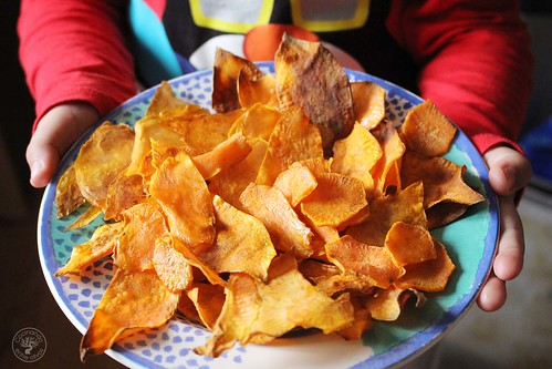 Chips de boniato al horno www.cocinandoentreolivos.com (11)