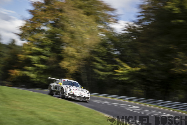 VLN. Round 9 DMV 250-Meilen-Rennen at the Nürburgring 11 October 2014