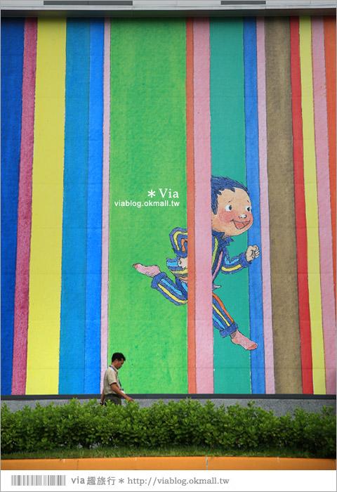 【南科幾米】台南|台積電南科幾米裝置藝術小公園~願望盛開‧許諾之地35