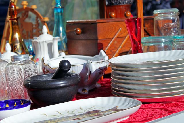 блошиный рынок берлин посуда