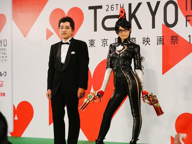 Photo:26th Tokyo International Film Festival: Kizaki Fuminori from BAYONETTA Bloody Fate By Dick Thomas Johnson