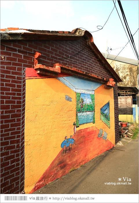 【關廟彩繪村】新光里彩繪村~在北寮老街裡散步‧遇見全台最藝術風味的彩繪村43