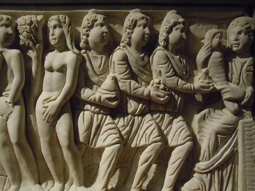 Resultado de imagen de sarcófago de los Apóstoles y del de Leocadio