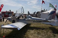 G-CDNI - 2321 - Fly CB - Evektor Aerotechnik EV-97 Teameurostar UK - Fairford RIAT 2006 - Steven Gray - CRW_1663