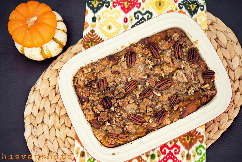 baked pumpkin french toast #cascadeshiningreviews