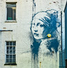 Girl with Pearl earring by Banksy?