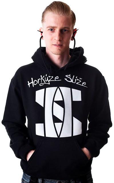Mikina Horkýže Slíže - Logo Black/white