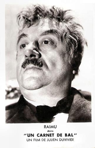 Raimu in Un Carnet de Bal (1937)