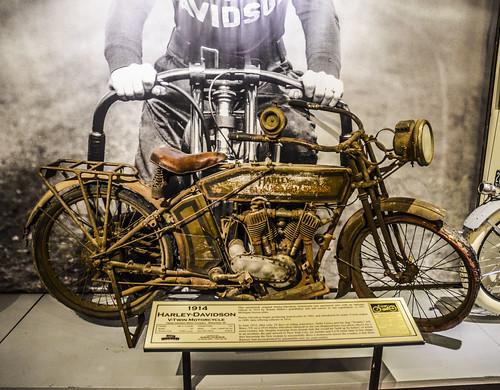 Early Harley-Davidson - 1914