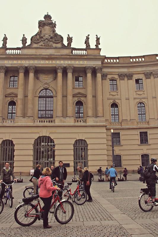 Humboldt-yliopiston vanha kirjasto Berliinissä