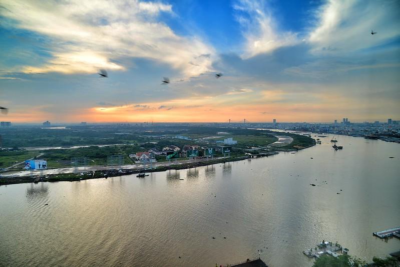 Mekong River bend