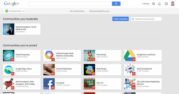 Joining and Sharing With Google Plus Communities