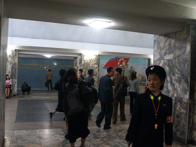 Pyongyang Metro - Victory (seung-ri) Station