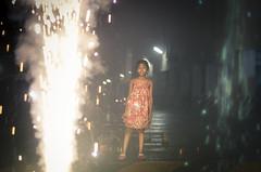 Diwali is lighting up the kid's smile!