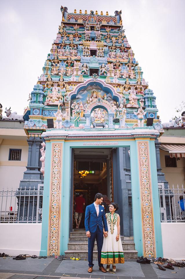 Singapore Pre Wedding Arvind Anusha Natstudios Award Winning