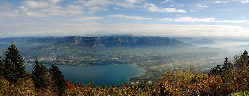 Chambéry Airport and Lac du Bourget