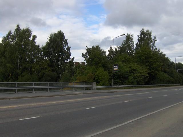 Hämeenlinnan moottoritiekate ja Goodman-kauppakeskus: Työmaan lähtötilanne 3.9.2011 - kuva 1