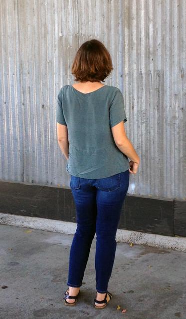Rachel Comey Inspired Peplum Top