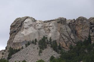 Mt. Rushmore, South Dakota.  USA.