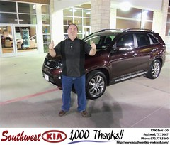 Southwest Kia Rockwall Texas Dallas Customer Reviews Dealer Testimonials-Alan Sheedy